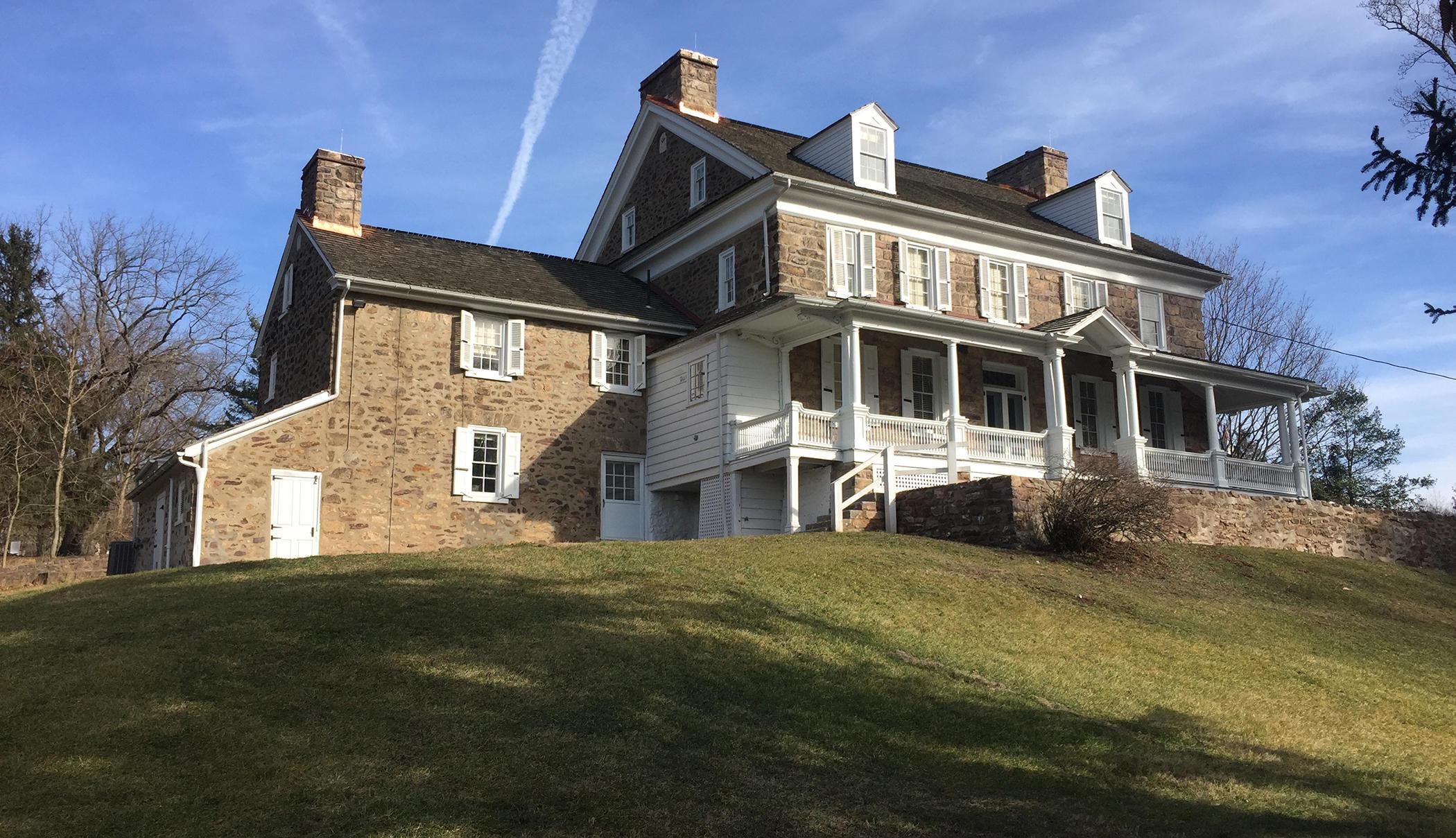 John james audubon center at mill grove for The grove house